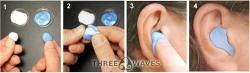 Indivdueller Ohrschutz zum selbermachen für Wassersport